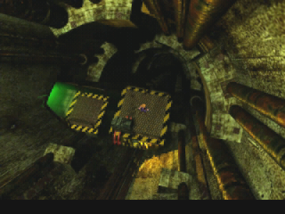 Aufzug in Final Fantasy VII