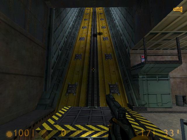 Half-Life Aufzug