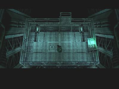 Aufzug in Metal Gear Solid