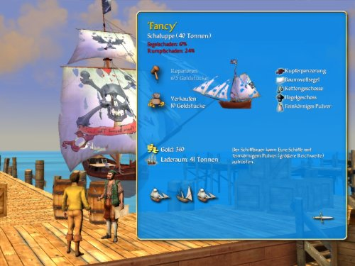 Screenshot - Sid Meier's Pirates!