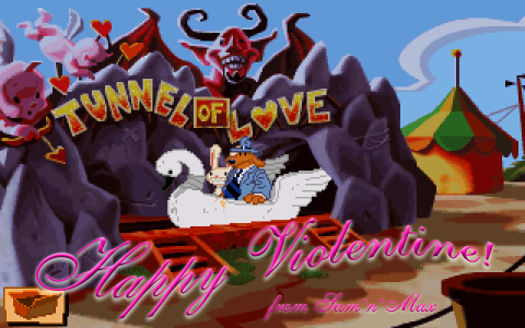 Happy violentine from Sam and Max