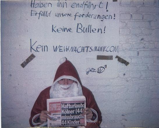 Weihnachtsmann gefangen genommen